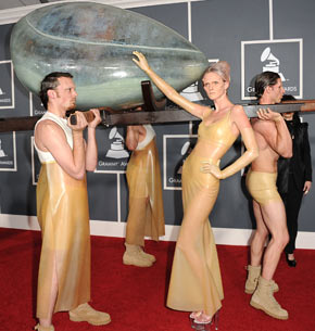 Lady gaga condom dress images