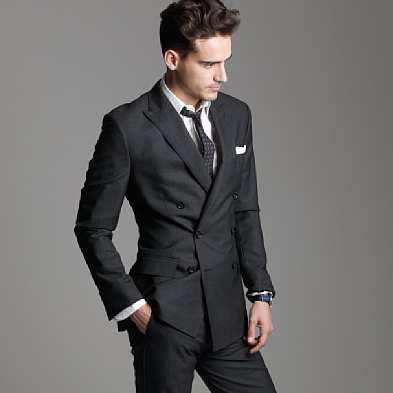 Gentlemen, meet your new suit: The double-breasted six button peak ...